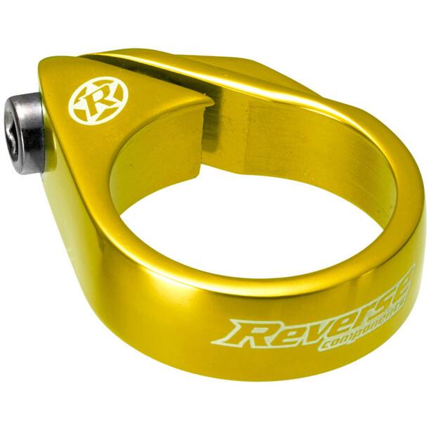 Reverse Bolt Sattelklemme Ø34,9mm gold