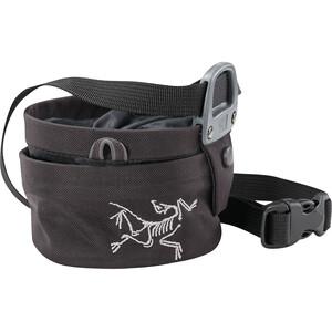 Arc'teryx Aperture Chalk Bag Small black black