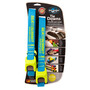 Sea to Summit Tie Downs with Silicone Cam Cover Strap 3,5 m Pair blue/lime