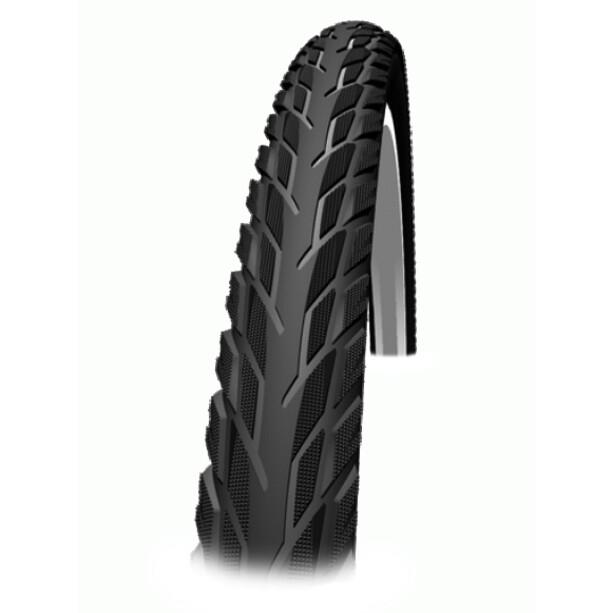 """SCHWALBE Silento Clincher Tyre 26x1.75"""" Reflex black-reflex"""