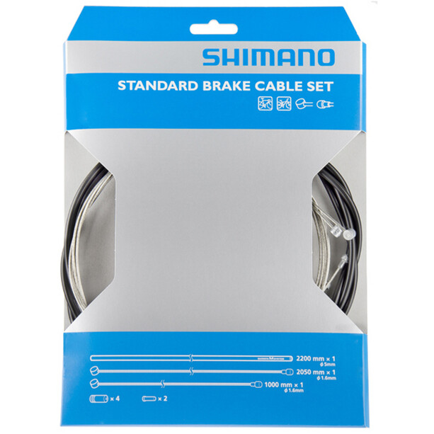 Shimano Bremszugset grau/schwarz
