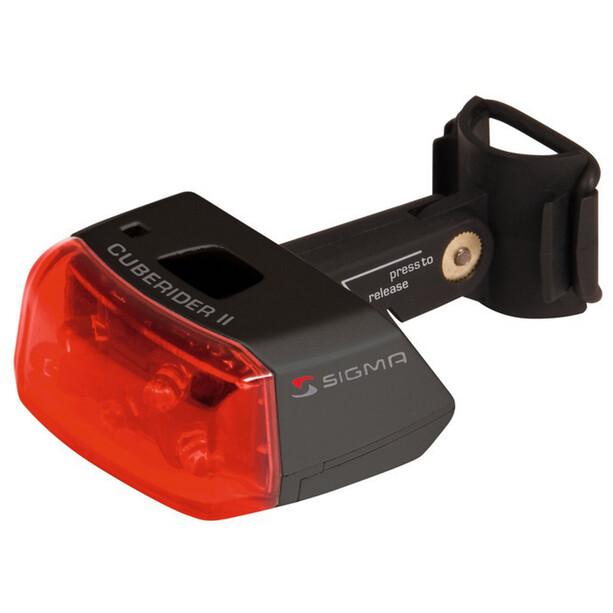 SIGMA SPORT Cuberider II LED Rückleuchte schwarz
