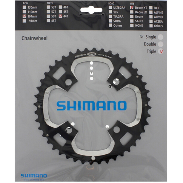Shimano Deore XT-M770 Kettenblatt schwarz