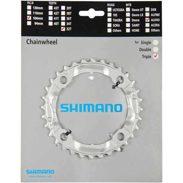 Shimano Alivio FC-M430 Kettenblatt silber