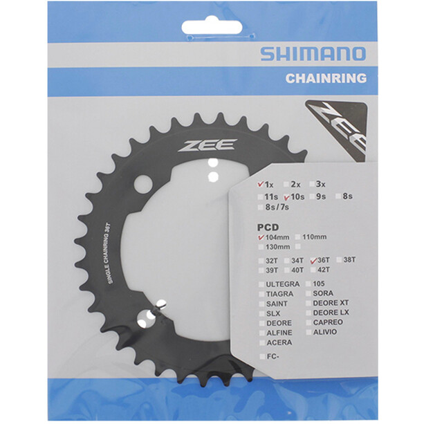 Shimano ZEE FC-M640 Chainring black