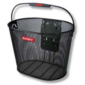 KlickFix Oval Puls Basket black black