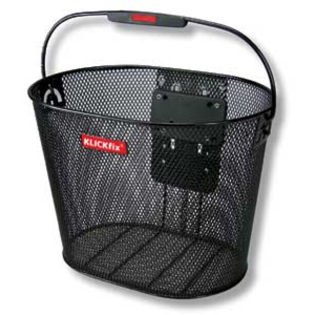 KlickFix Oval Puls Basket black