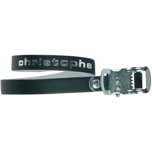 Zefal Christophe 516 Pedal Straps Leather ブラック