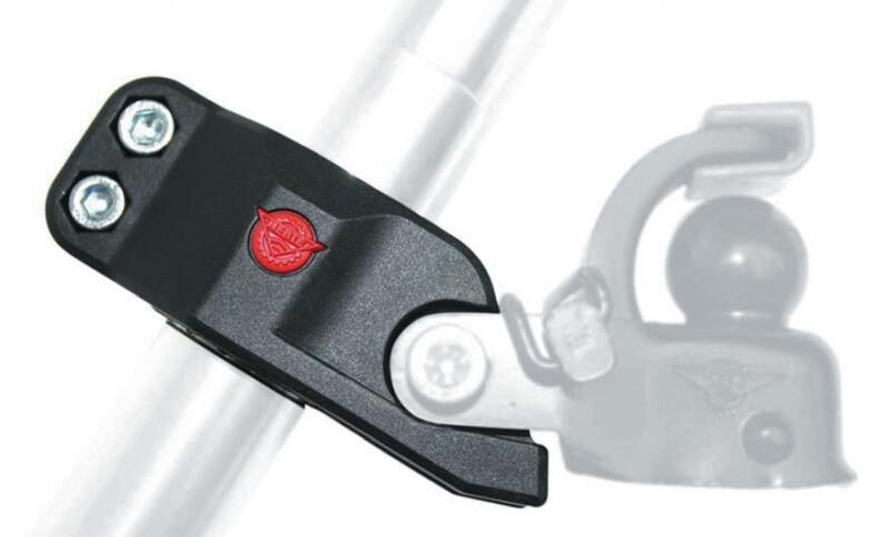 Hebie Sattelstützadapter für Anhängerkupplung F1 Fahrradanhänger Zubehör  2067006000