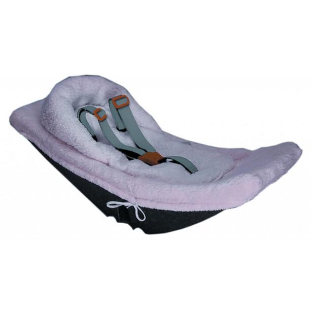 Weber Babyschalenverkleinerung für Säuglinge Kinder grau