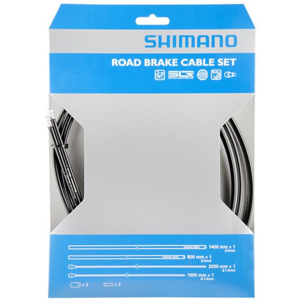 Shimano Road Bremszugset SIL-TEC beschichtet schwarz