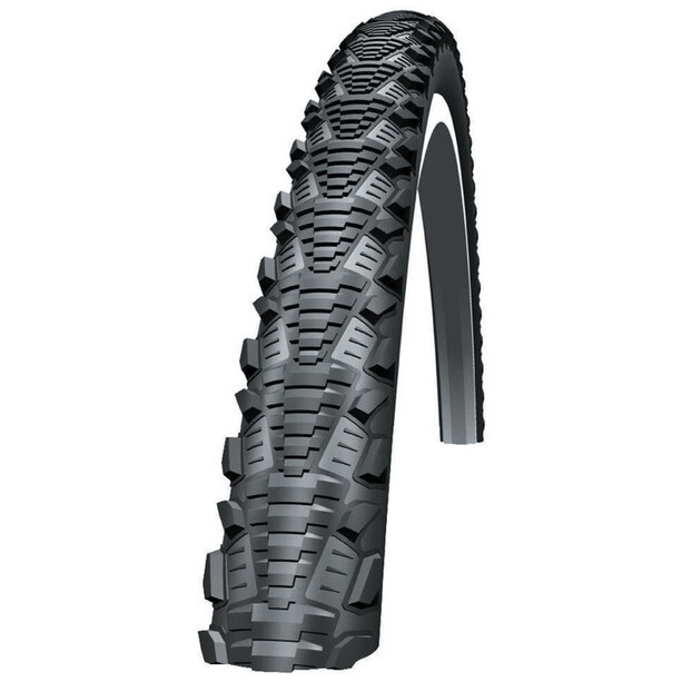 "SCHWALBE CX Comp Drahtreifen 24x1.75"" Reflex Puncture Protection black-reflex"