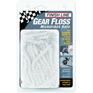 Finish Line Gear Floss microfiber rope cleaning threads