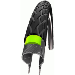 "SCHWALBE Marathon タイヤ Performance 24"", Greenguard wire bead リフレックス"