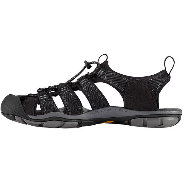 Keen Clearwater CNX Sandaalit Miehet, black/gargoyle
