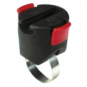 KlickFix Mini adaptateur pour câbles antivol, noir noir