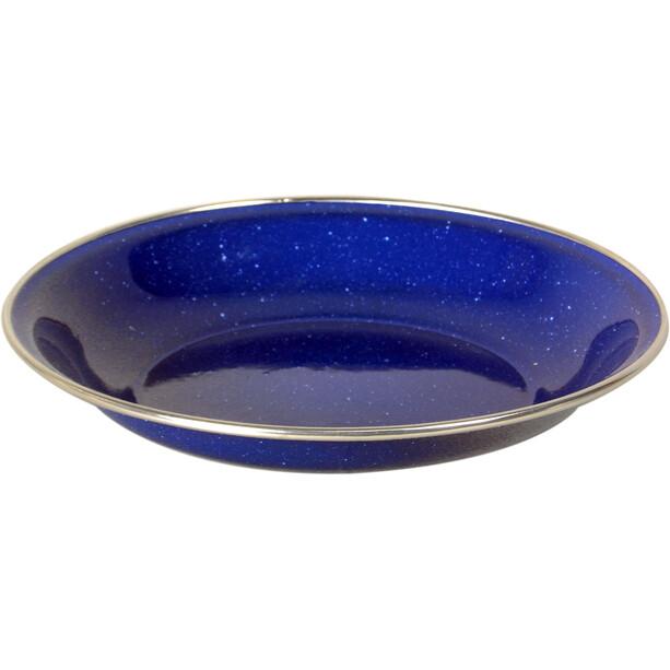 Basic Nature Emaille Teller Tief 20cm blau
