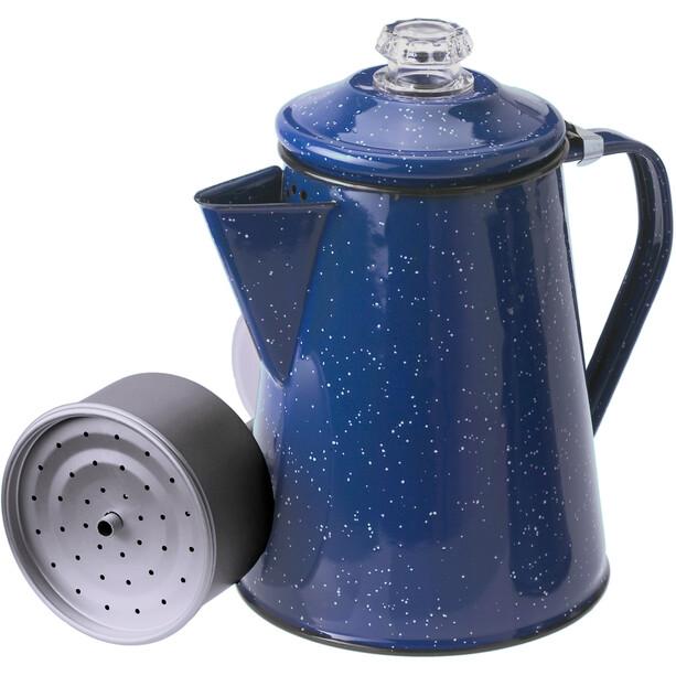 GSI Perkolator für 8 Tassen 1,2l blue
