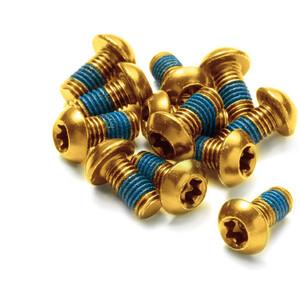 Reverse Schraubenset für Bremsscheiben 12 Stück gold gold