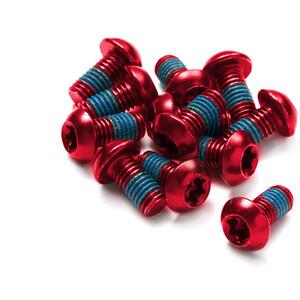 Reverse Schraubenset für Bremsscheiben 12 Stück rot rot