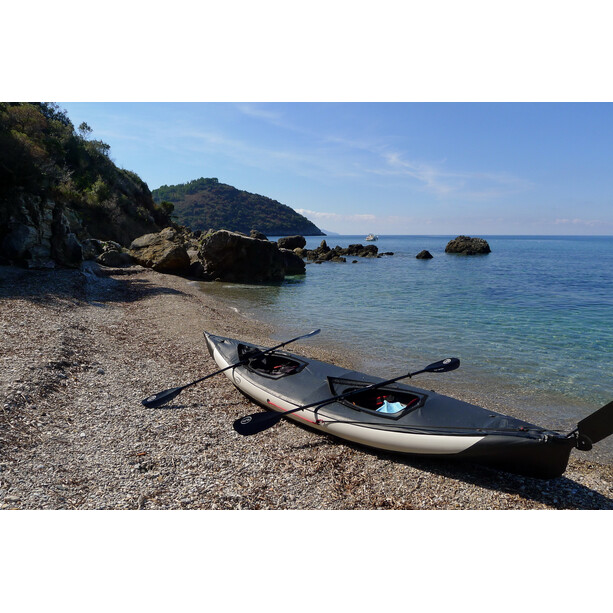 nortik scubi 2 Kayak bright grey/black