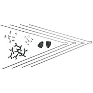 SKS Secu brace kit Chromoplastics 3.4 シルバー