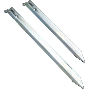 Nordisk V-Peg Stahl 6 Stück